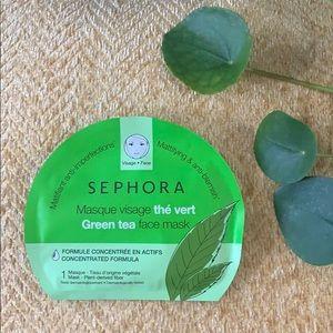Sephora Makeup - Sephora Sheet Mask Combo (Green Tea/ Pineapple)